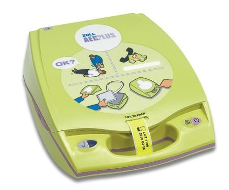 Underhåll av Zoll AED Plus