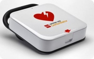 Hjärtstartare med unikt hlr-stöd