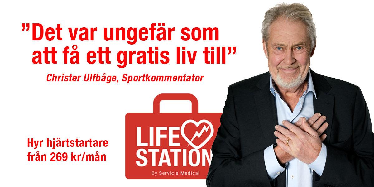 Hjärtstartare - Christer Ulfbåge